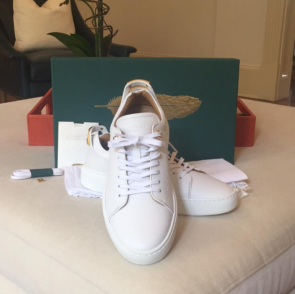 Alce Low Buscemi Sneakers 5 Sold Out Box In Uno 39 Sneakers White New BxqFt