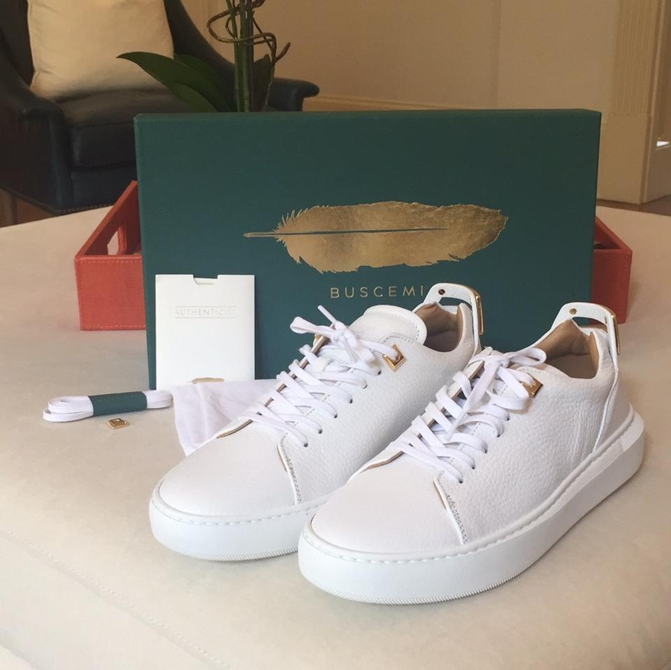 Sold 39 Box Sneakers Sneakers New 5 Alce Buscemi White In Low Out Uno vFqwxfafB6