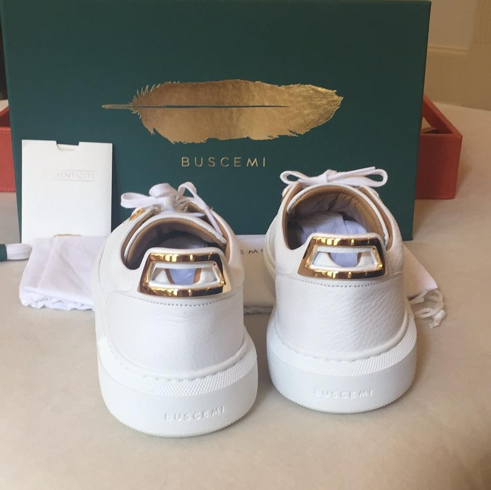 New Uno Box 5 Sneakers Sold Buscemi Low Sneakers Out 39 In White Alce gnwq06a