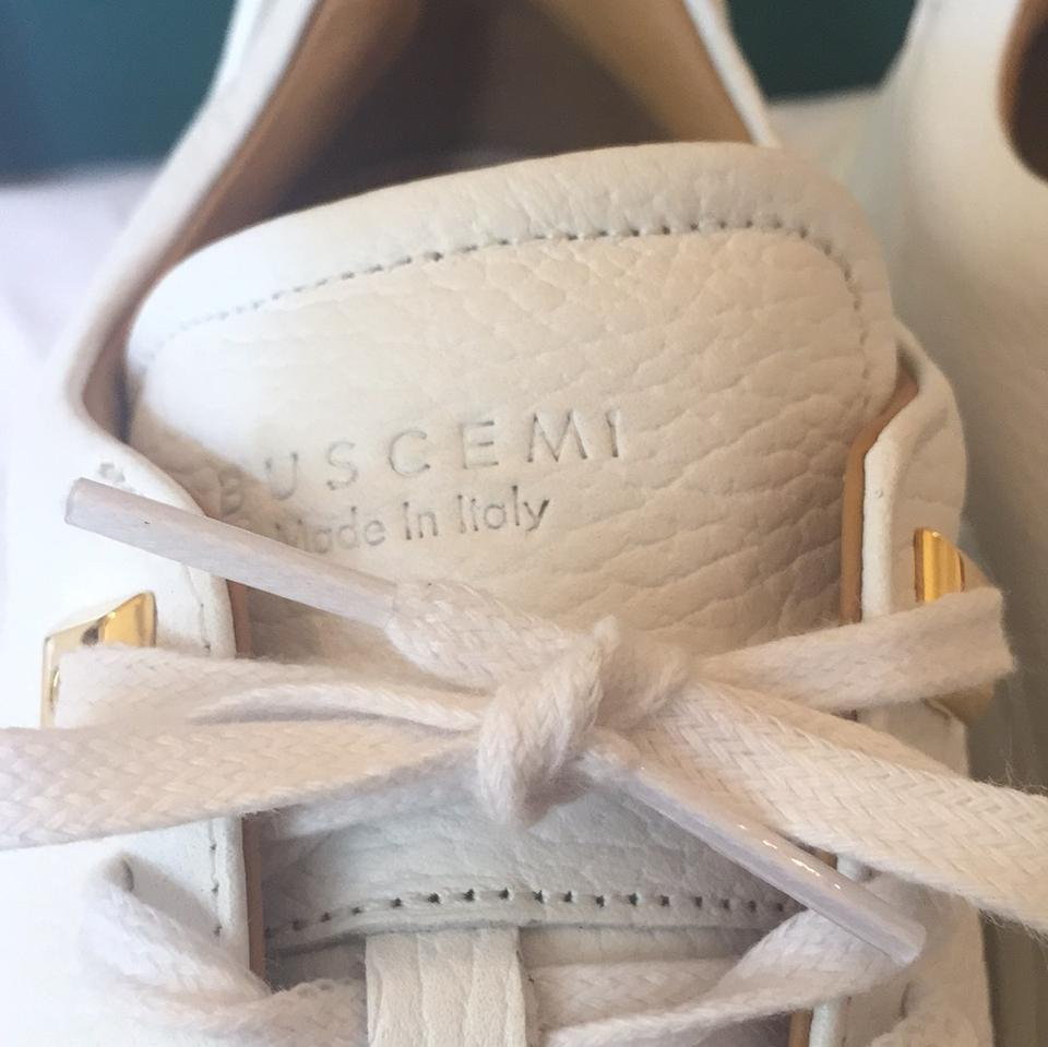 In Sneakers Box Sneakers Sold 5 Low Uno Alce New Buscemi Out 39 White q71xxwp
