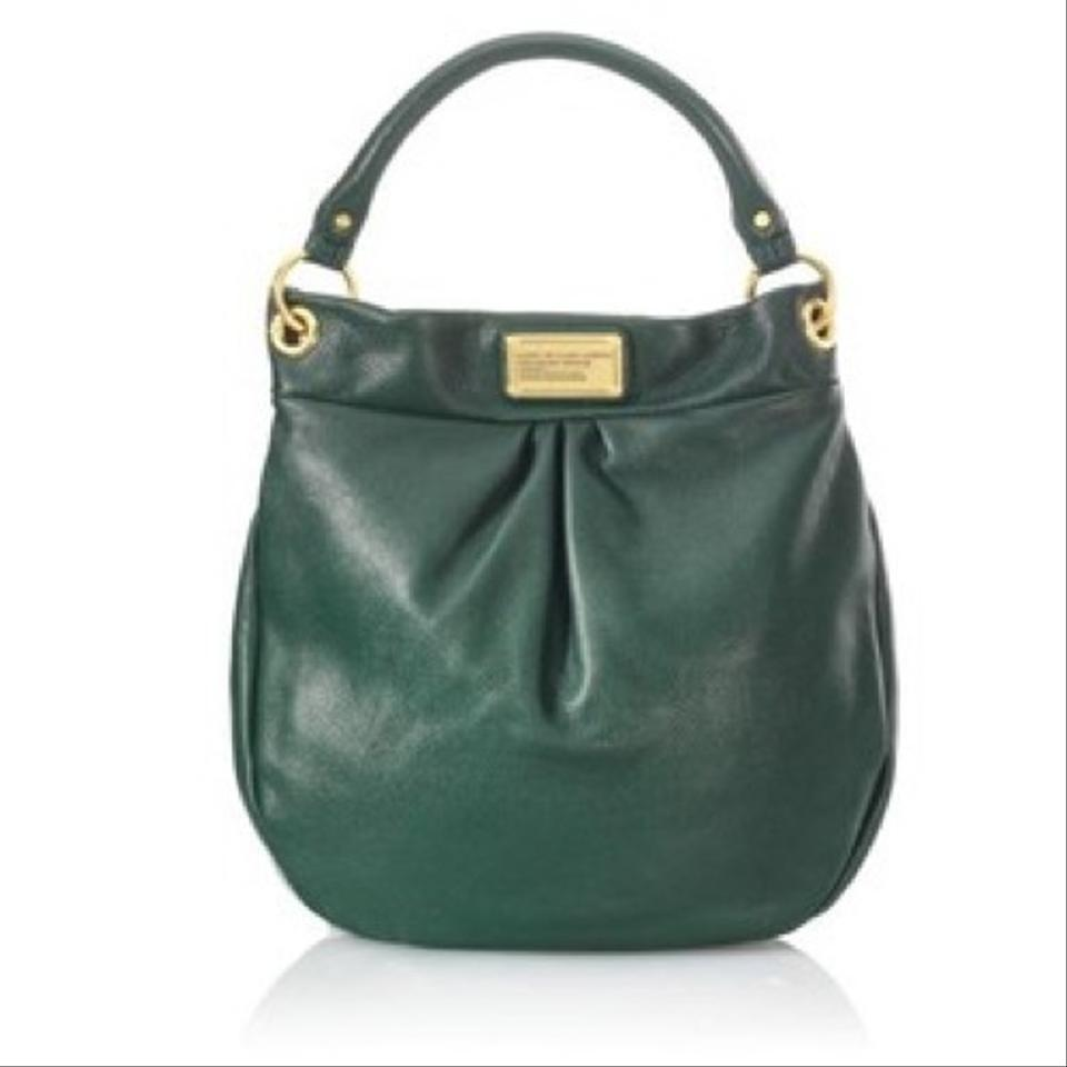 Jacobs Hobo Bag Marc Hillier Leather Green dwfYqa