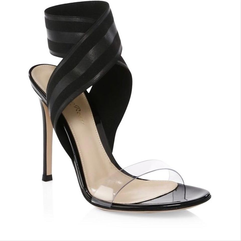 Crisscross Rossi strap Sandals Black Gianvito Ankle HYxTOnq