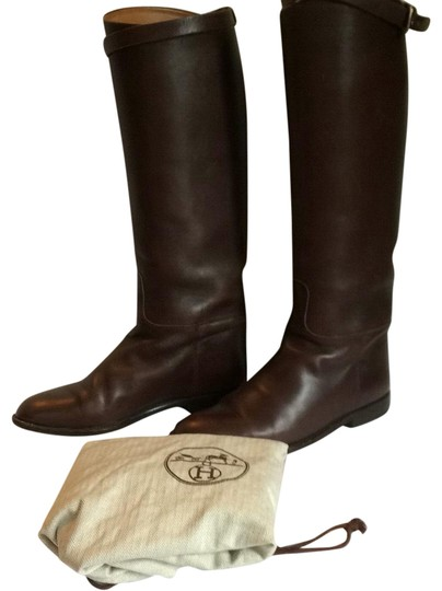 Preload https://img-static.tradesy.com/item/23771304/hermes-round-toe-leather-jumping-bootsbooties-size-us-8-regular-m-b-0-1-540-540.jpg