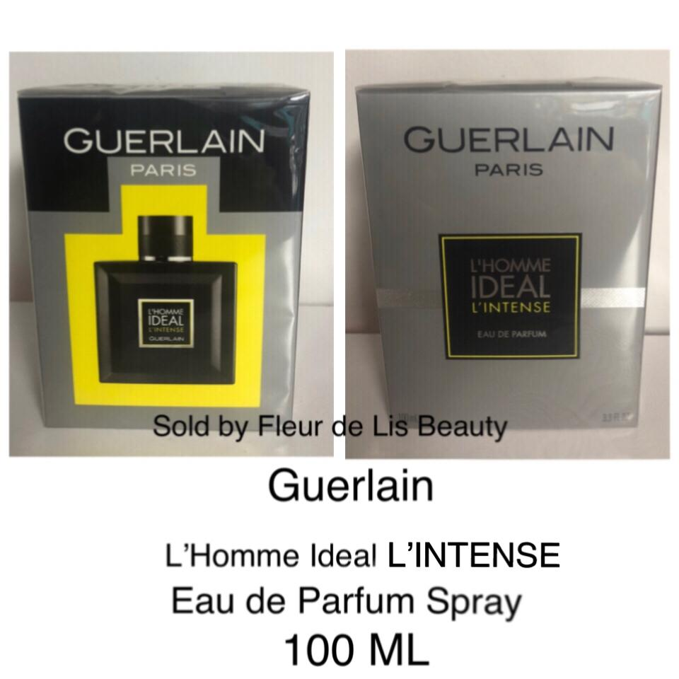 Guerlain Lhomme Ideal Lintense 100 Ml 33 Oz New Sealed Fragrance
