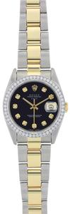 Rolex Vintage Rolex Date Watch Stainless Steel and Yellow Gold 34MM