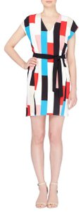 Catherine Malandrino short dress White multi Sheath on Tradesy