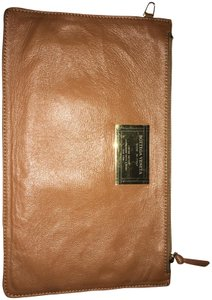 Bottega Veneta Leather Pouch Brown Clutch