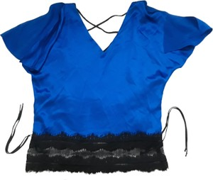 Diane Samardi Alice And Olivia Parker Evening Elizabeth And James Top Blue