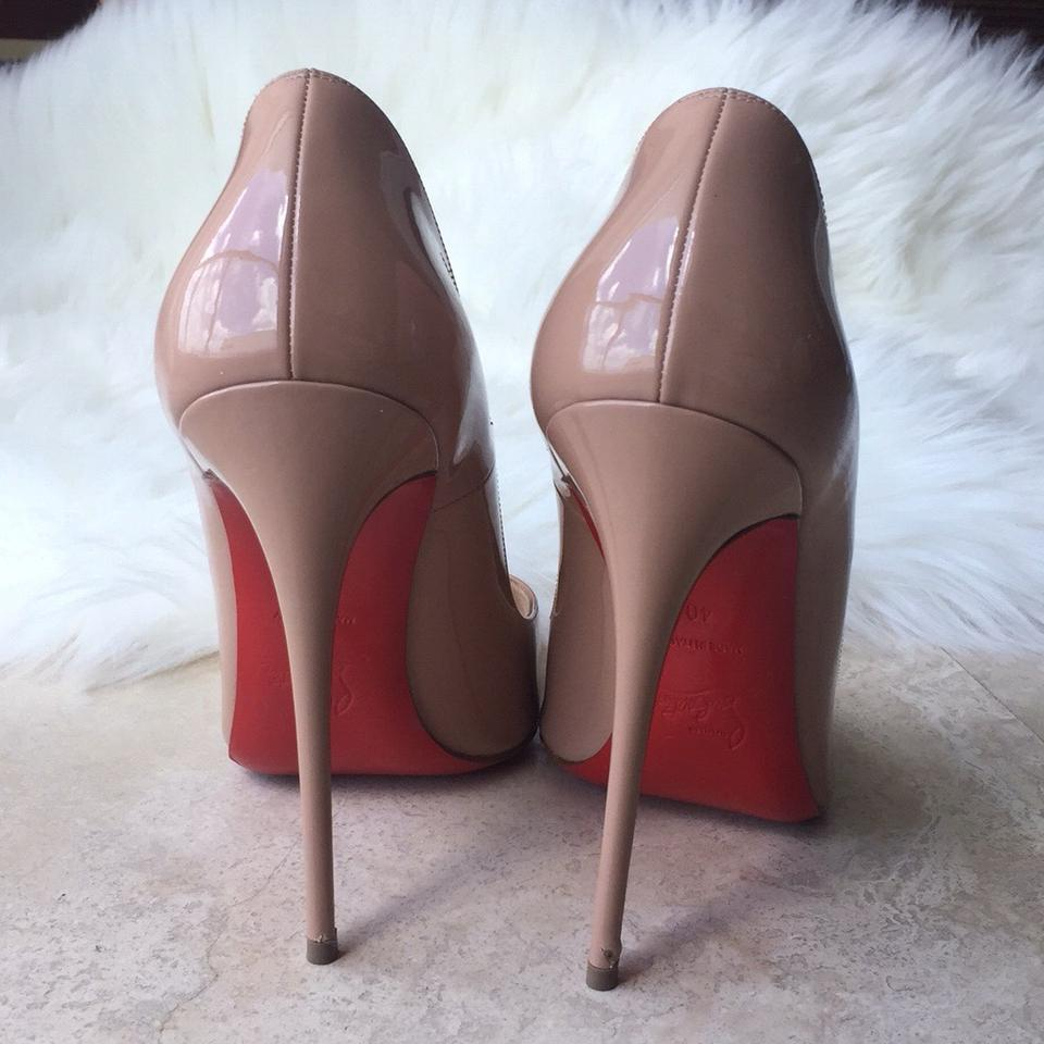 120mm Louboutin Nude Pumps So Kate Christian 6qIPCdxC