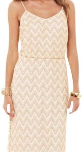 White and Gold Maxi Dress by Lilly Pulitzer