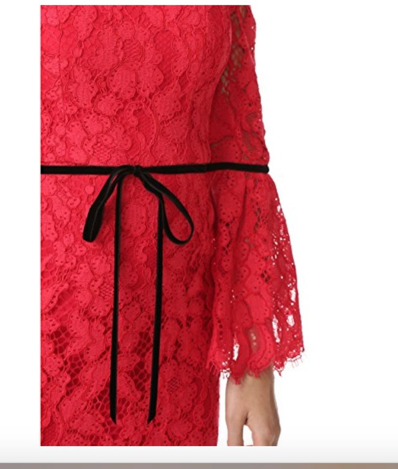 Lace Odette Halter Dress Formal Alexis Red UxqwtUC64