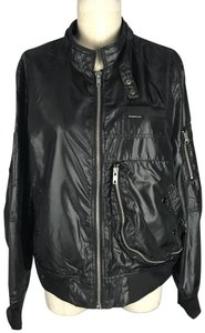 Members Only Ripstop Bomber Full Zip Up Military Jacket
