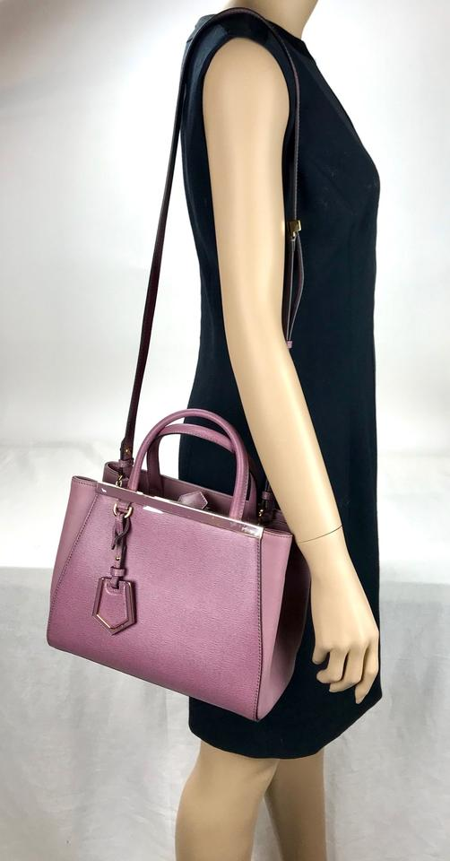 415b590db158 Fendi Vitello Elite Petite 2jours Tote Lilac Leather Satchel - Tradesy