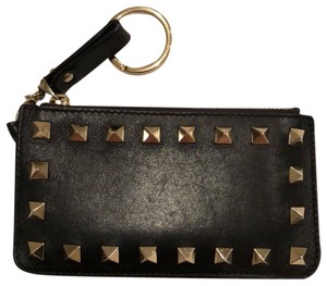 Valentino Rock Stud Key Card Holder