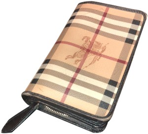 Burberry Burberry Check Canvas Wallet