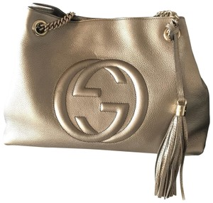 d47884ca9732 Gucci Soho Leather Shoulder Bags - Up to 70% off at Tradesy