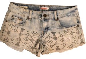 Hot Kiss Denim Shorts-Acid