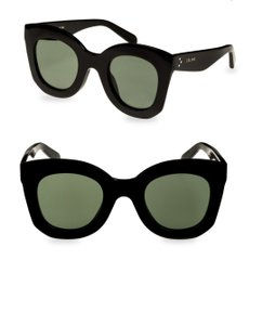 ce51db544e48 Céline Black New Oversized Butterfly Sunglasses - Tradesy