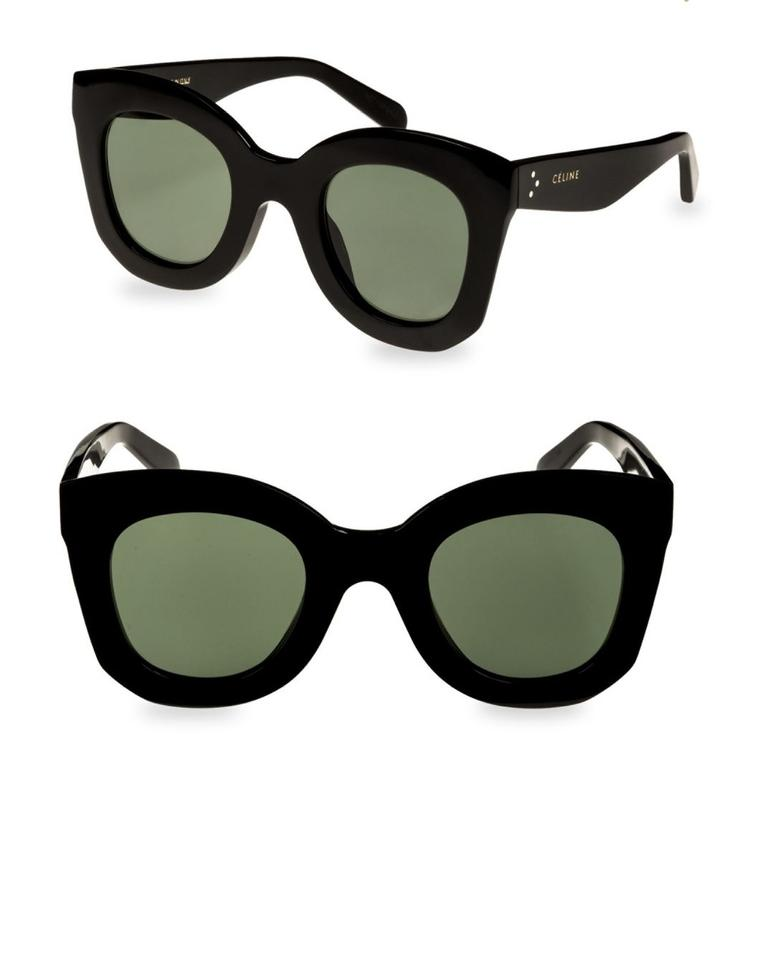 0ed1c85bd9a Céline Black New Oversized Butterfly Sunglasses - Tradesy