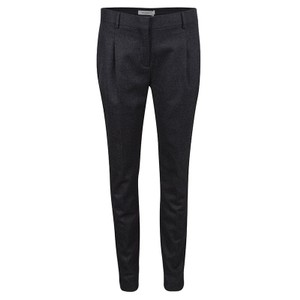 Valentino Wool Cotton Trouser/Wide Leg Jeans