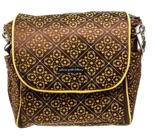 Preload https://img-static.tradesy.com/item/23774535/bottom-toffee-roll-484346-brown-and-yellow-canvas-backpack-0-0-540-540.jpg