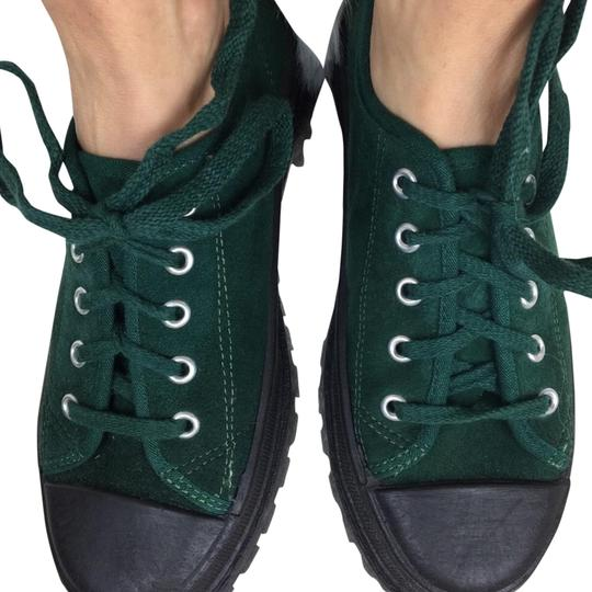 Preload https://img-static.tradesy.com/item/23774593/passport-green-black-suede-and-lace-up-sneakers-sneakers-size-us-7-regular-m-b-0-1-540-540.jpg