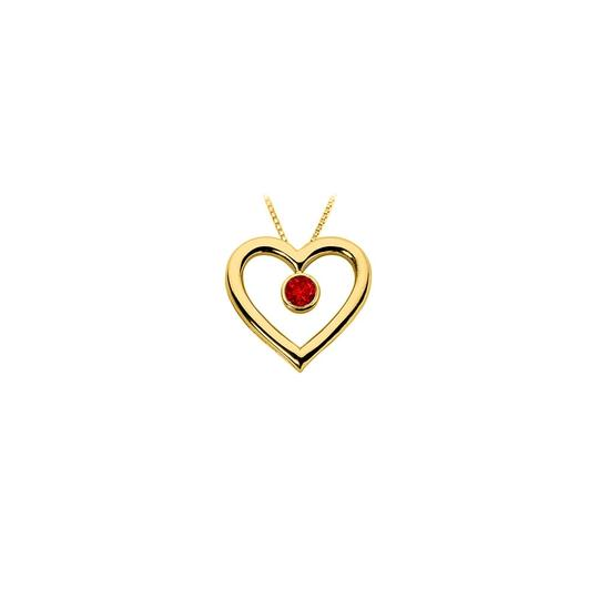 Preload https://img-static.tradesy.com/item/23774633/red-created-ruby-heart-pendant-18k-yellow-gold-vermeil-sterling-silver-07-necklace-0-0-540-540.jpg
