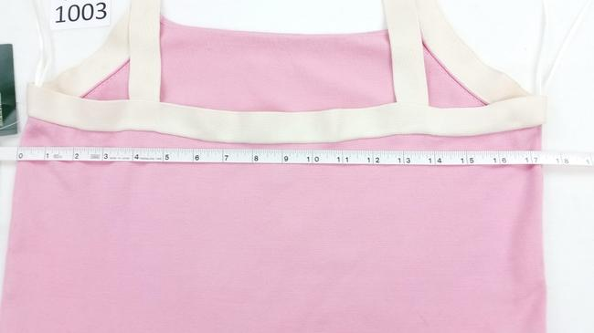 Ralph Lauren Offwhite Knit Sexy Top pink Image 5