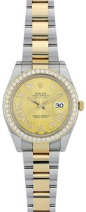 Rolex Customized Rolex Datejust II Stainless Steel and Yellow Gold 116333