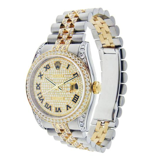 Rolex Rolex Datejust 36MM Stainless Steel and Yellow Gold with Diamonds Image 1