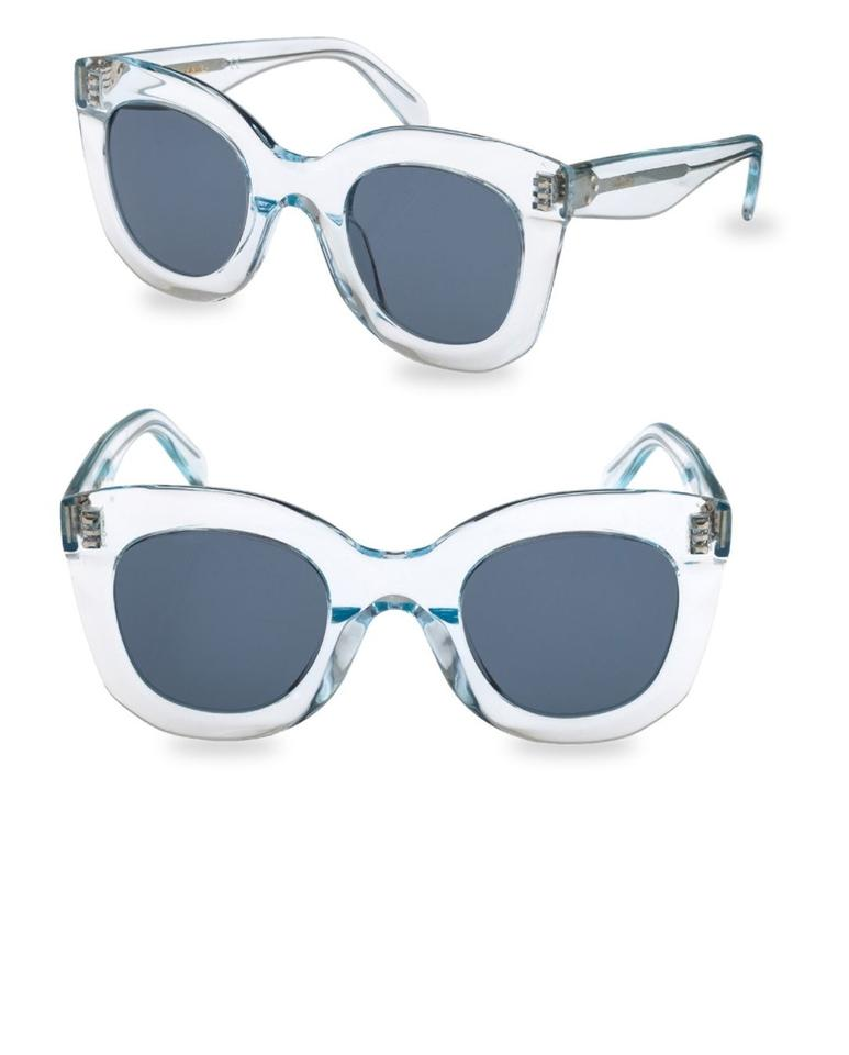1fd58ce47a74 Céline Light Blue New Oversized Butterfly Sunglasses - Tradesy