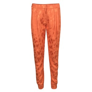 Matthew Williamson Viscose Leopard Relaxed Fit Jeans