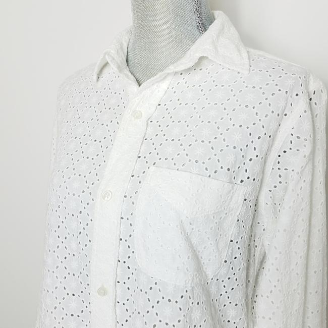 Current/Elliott Button Down Shirt White Image 1