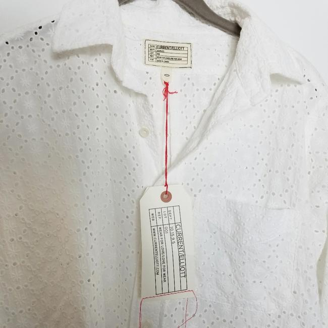 Current/Elliott Button Down Shirt White Image 2