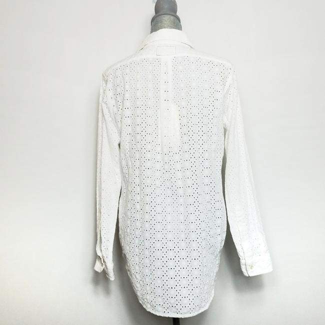 Current/Elliott Button Down Shirt White Image 3
