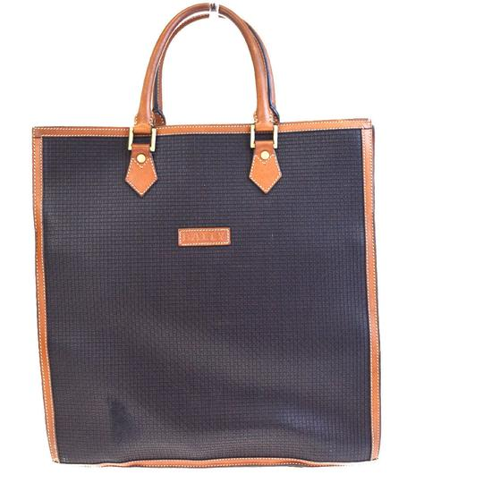 Preload https://img-static.tradesy.com/item/23775656/bally-logo-hand-gold-made-in-italy-brown-pvc-leather-tote-0-0-540-540.jpg