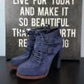 Dolce Vita Suede blue Boots Image 2