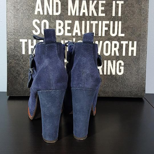 Dolce Vita Suede blue Boots Image 3