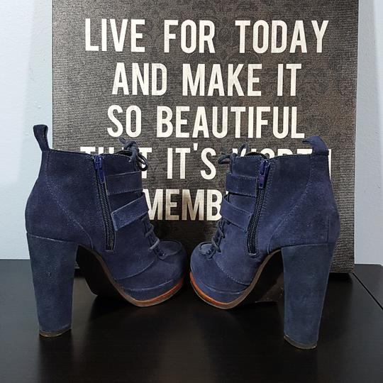 Dolce Vita Suede blue Boots Image 4