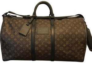 Louis Vuitton Waterproof Keepall Weekendbag Highfashion Brown Travel Bag