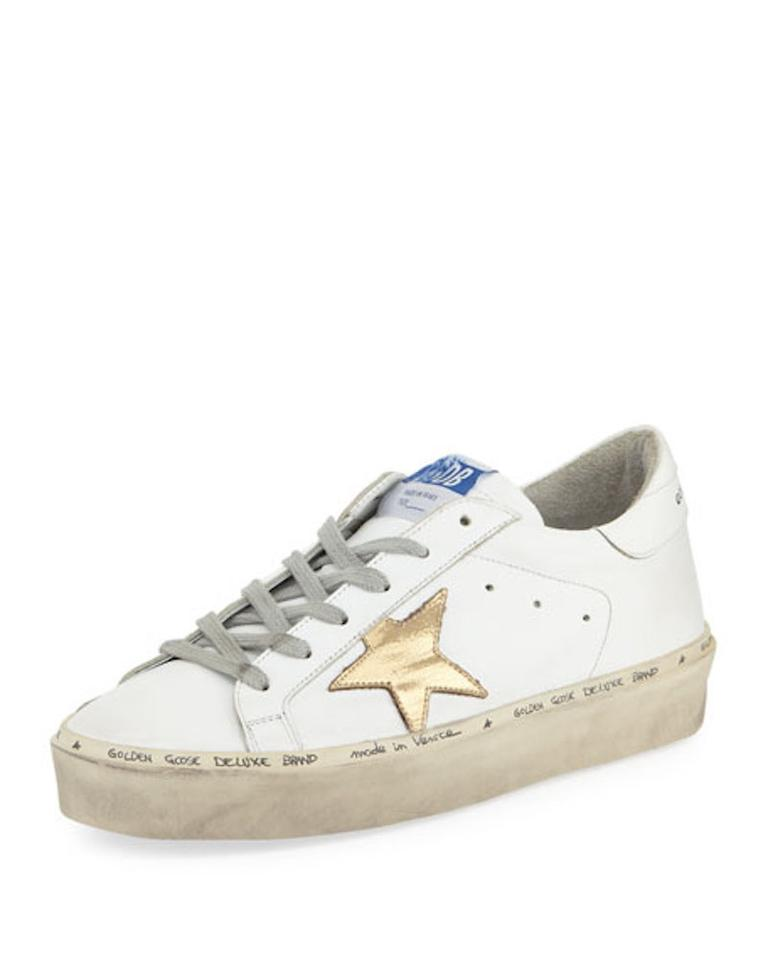 76e01282b348 Golden Goose Deluxe Brand Sneakers Leather Sneakers Hi Star Sneakers White  Athletic Image 0 ...