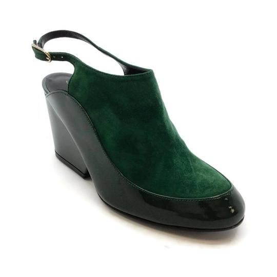 Robert Clergerie Green Wedges Image 0