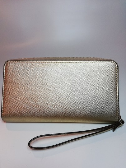 Kate Spade Small Wallet Wristlet in Gold Image 5