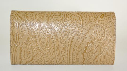 Etro ETRO WALLET PAISLEY EMBOSSED LEATHER CONTINENTAL NEW WOMENS Image 7