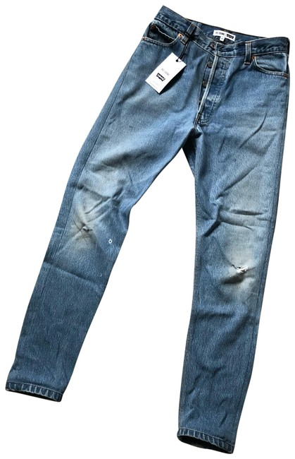 Preload https://img-static.tradesy.com/item/23776425/redone-light-wash-high-rise-straight-leg-jeans-size-0-xs-25-0-1-650-650.jpg