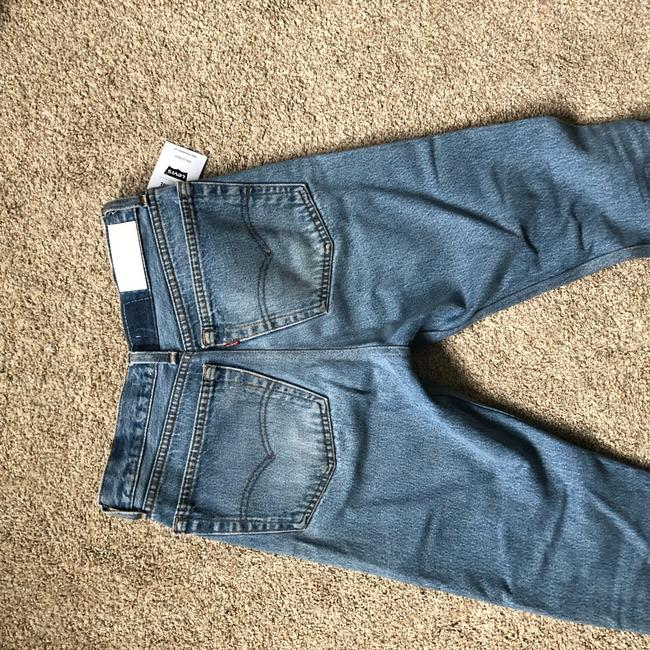 RE/DONE Straight Leg Jeans-Light Wash Image 2