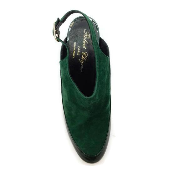Robert Clergerie Green Wedges Image 3