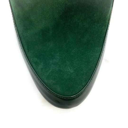 Robert Clergerie Green Wedges Image 4