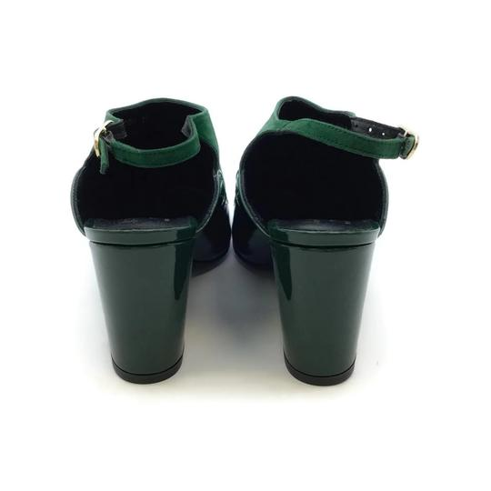 Robert Clergerie Green Wedges Image 7
