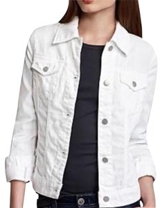 J Brand white Womens Jean Jacket
